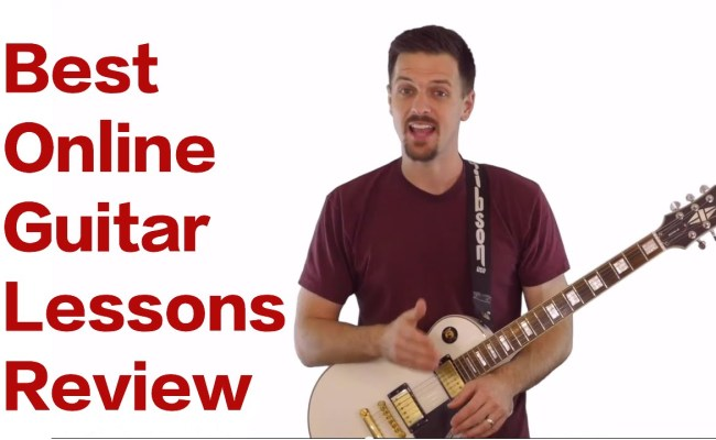 best online guitar lessons youtube