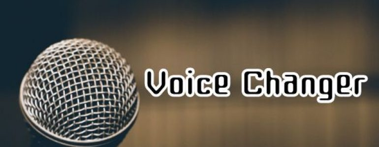 youtube voice changer