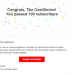 What Happens When You Get 100 Subscribers on YouTube?