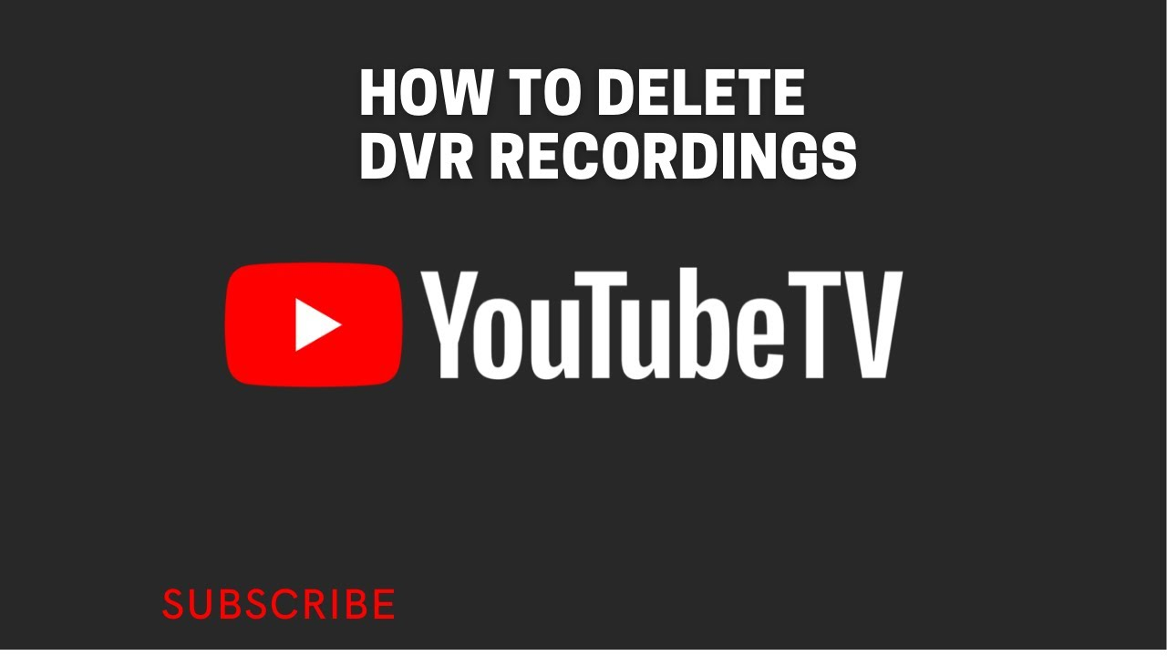 how to delete shows from youtube tv library