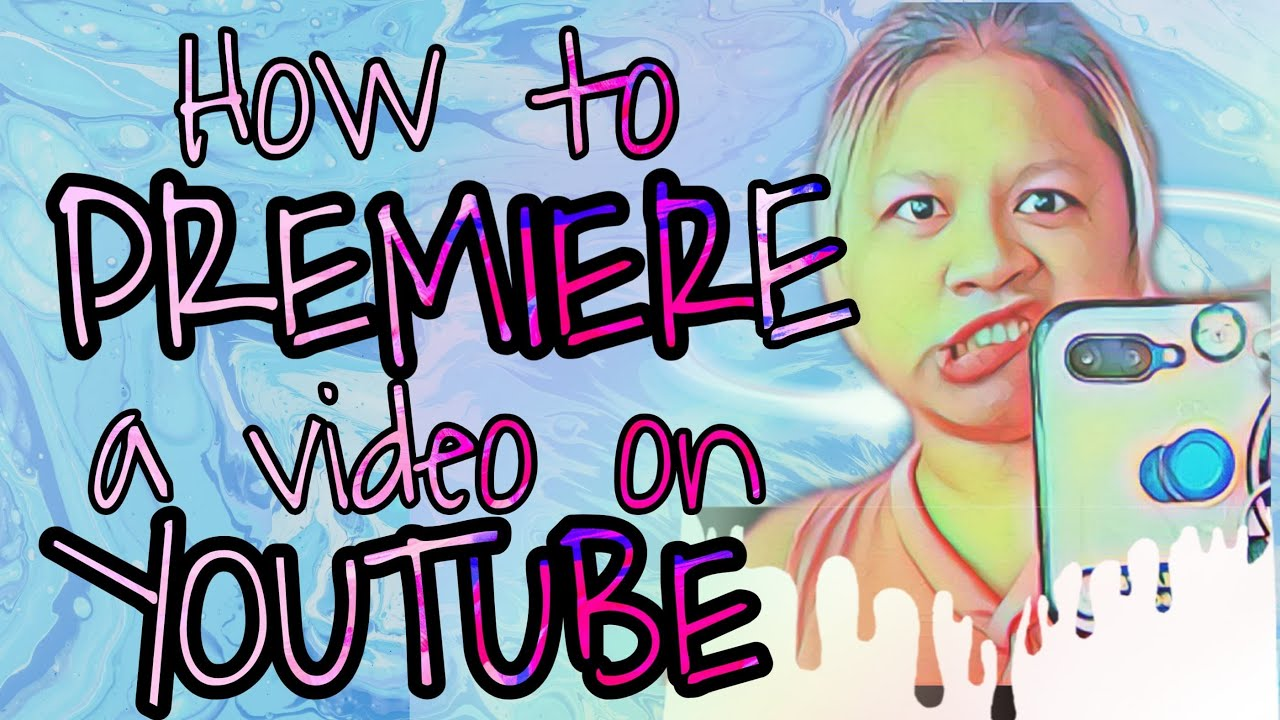 how to premiere on youtube