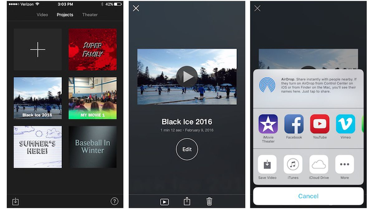 how to upload a video to youtube from imovie