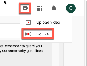 how to stream zoom to youtube