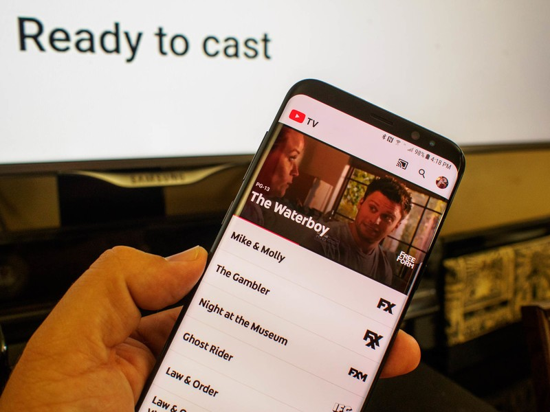 how to trick youtube tv location