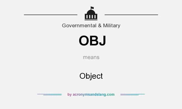 what does obj mean on youtube