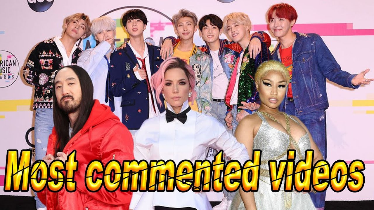 what is the most commented youtube video