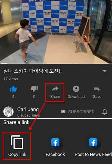 how to copy a youtube comment