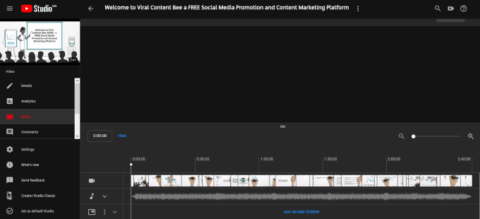 how long for youtube video to process