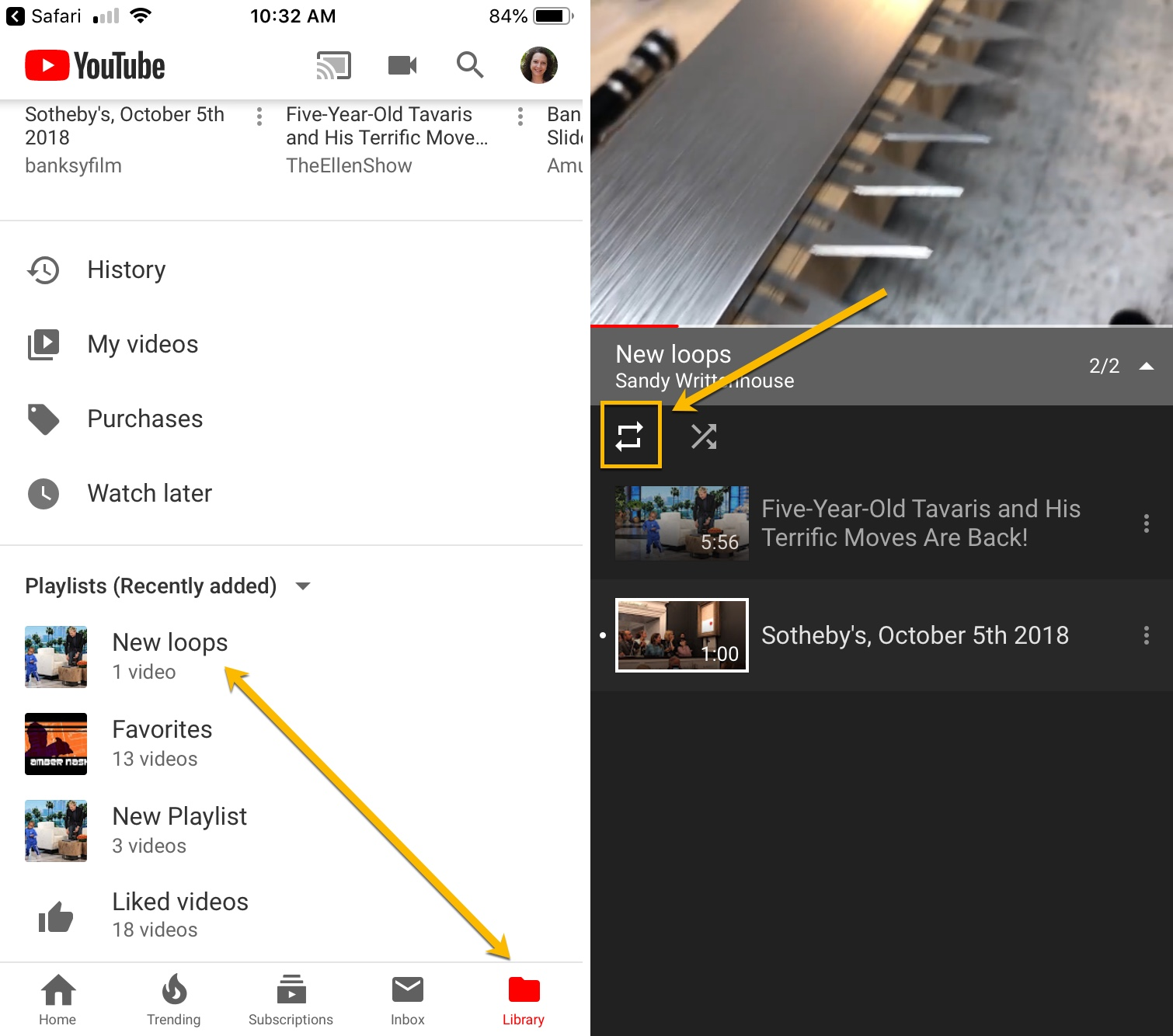 how to find saved videos on youtube