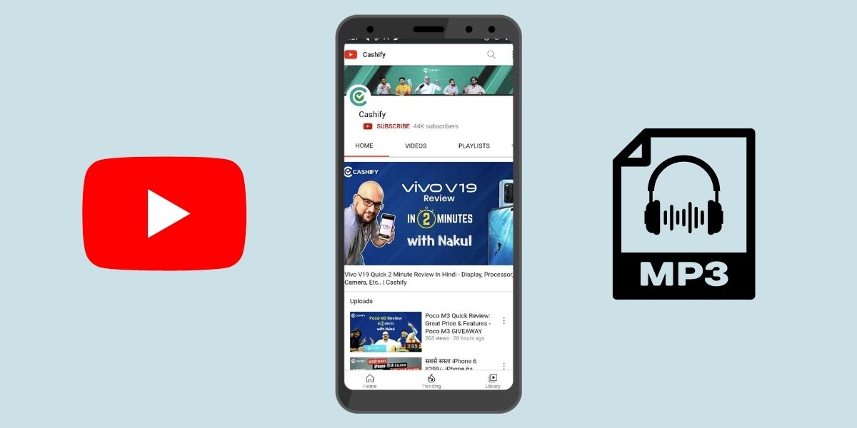 how to make a youtube video into a ringtone